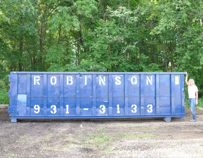 30 Yard Roll Off Container Cherry Hill Dumpster Rental